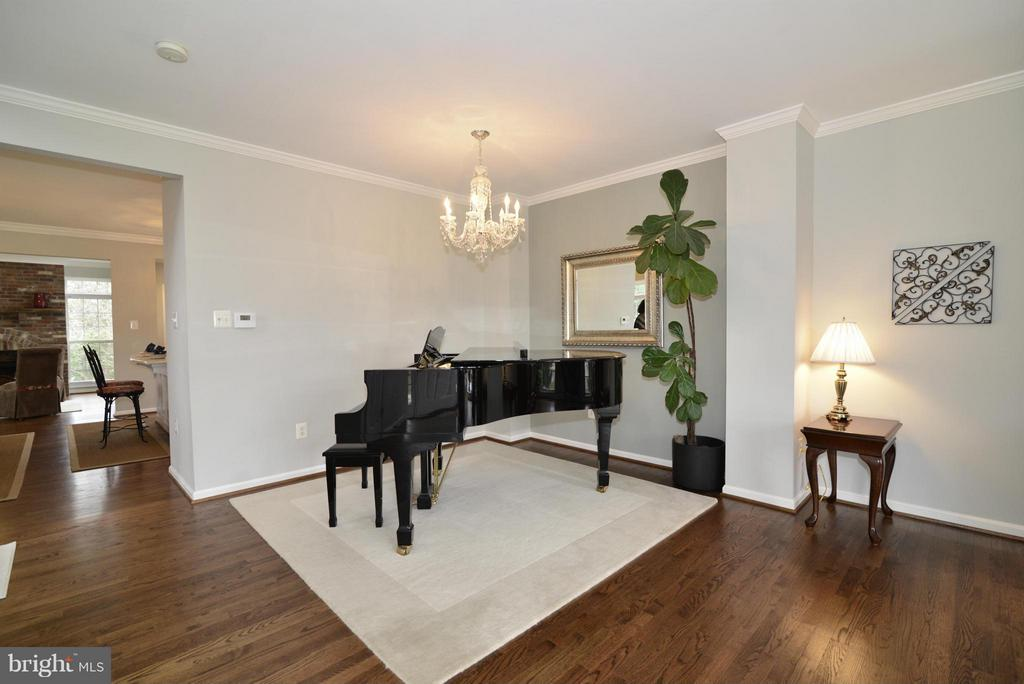 Living Room - 12240 DORRANCE CT, RESTON
