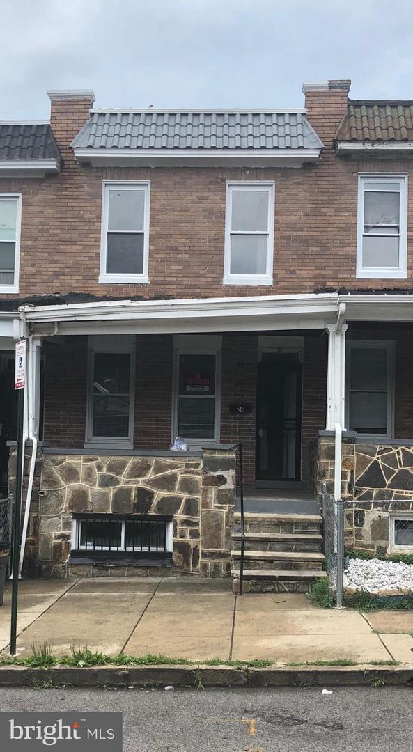 Single Family for Sale at 28 N Ellamont St Baltimore, Maryland 21229 United States