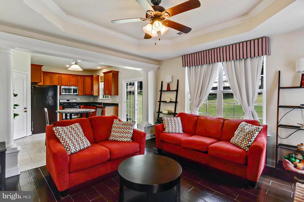 Family Room with Great Natural Light - 1206 JEFFERSON RD, FORT WASHINGTON