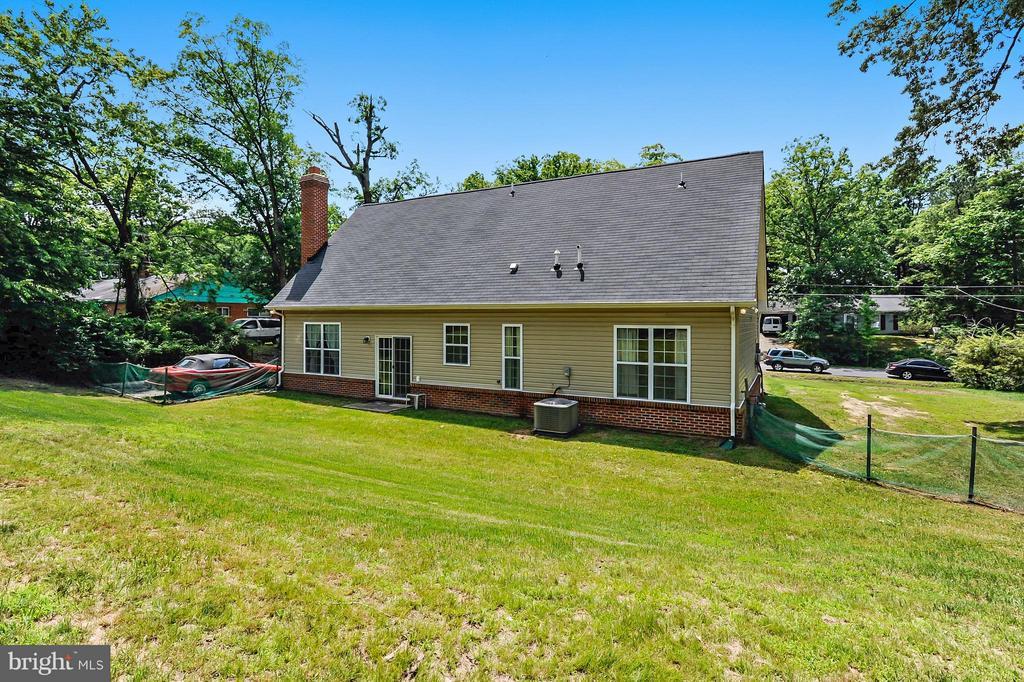 HUGE Backyard - 1206 JEFFERSON RD, FORT WASHINGTON