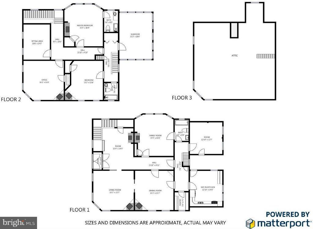 Floor plan - 1108 CHARLES ST, FREDERICKSBURG