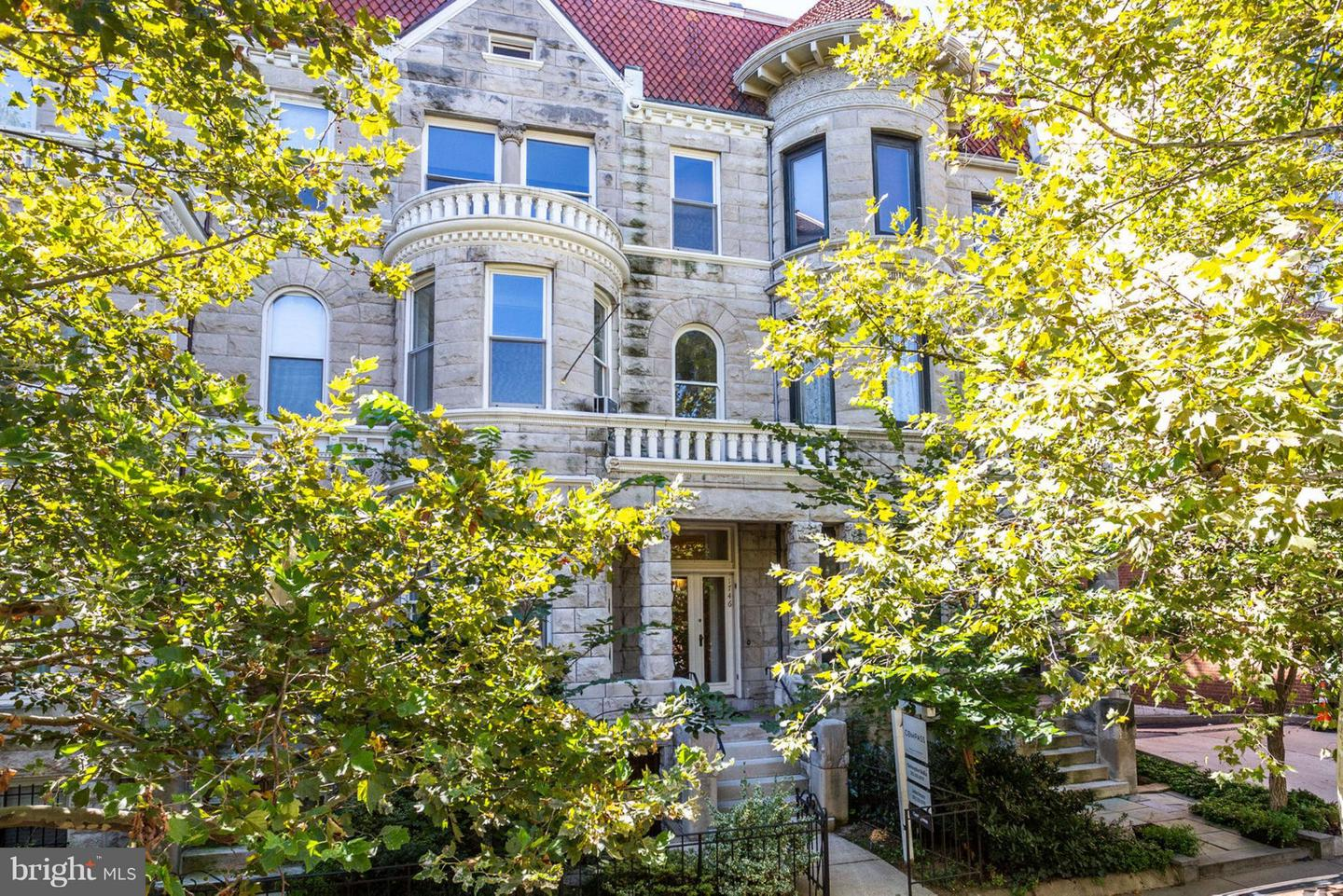 Single Family Home for Sale at 1746 Q St Nw 1746 Q St Nw Washington, District Of Columbia 20009 United States