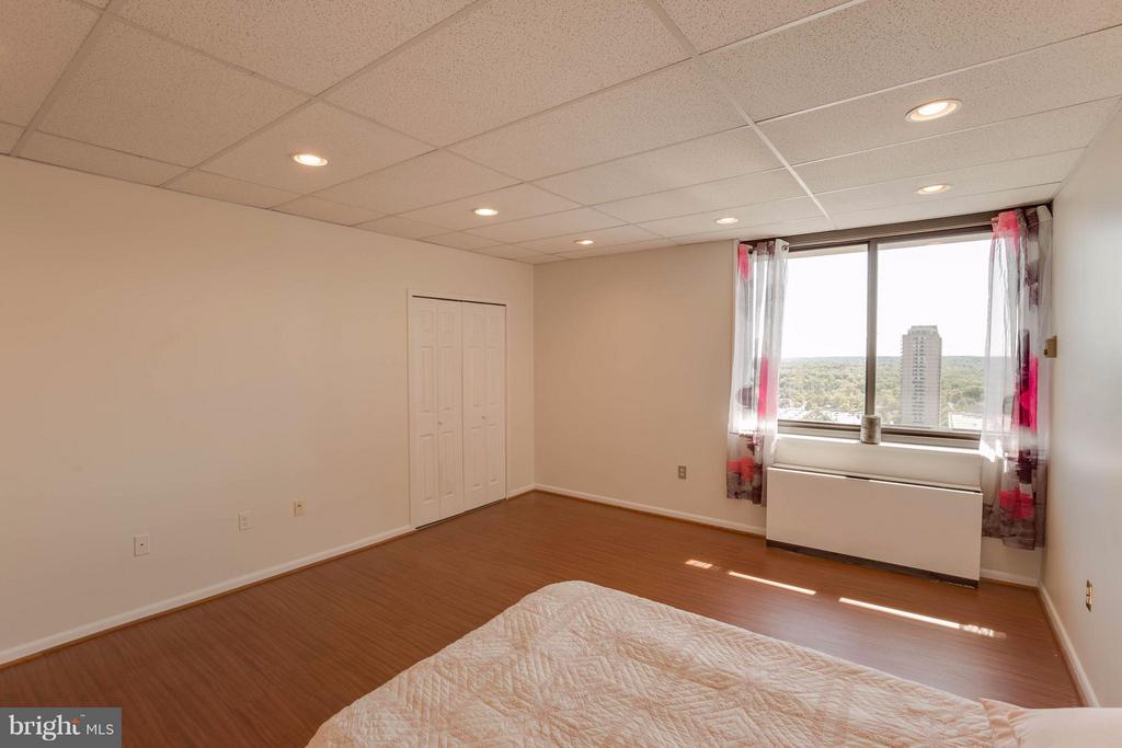 With plenty of room for a king bed & 2 closets - 3701 S GEORGE MASON DR #2605N, FALLS CHURCH