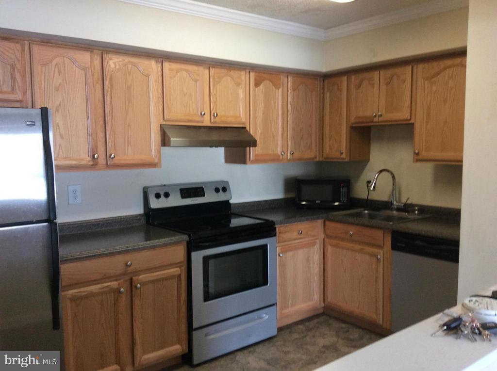 Updated kitchen - 7950 SEVEN WOODS DR #D, ALEXANDRIA