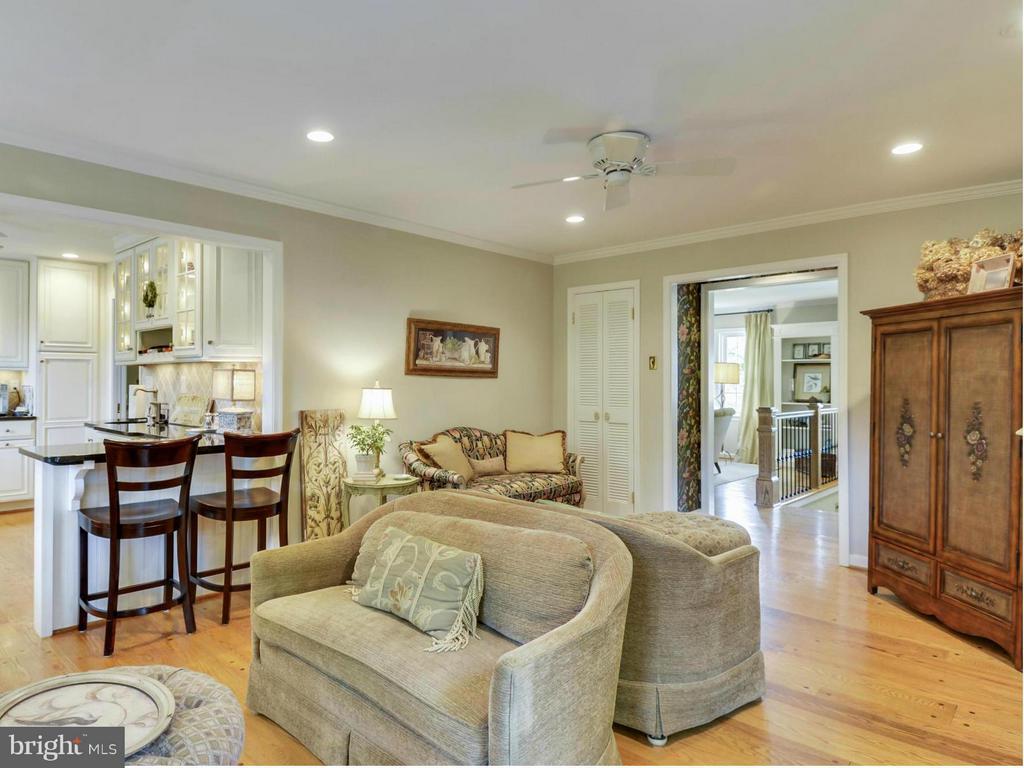 Open floor plan is perfect for entertaining - 3901 PINE BROOK RD, ALEXANDRIA