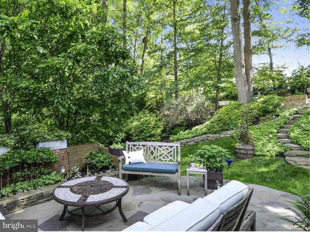 Backyard is a private sanctuary! - 3901 PINE BROOK RD, ALEXANDRIA