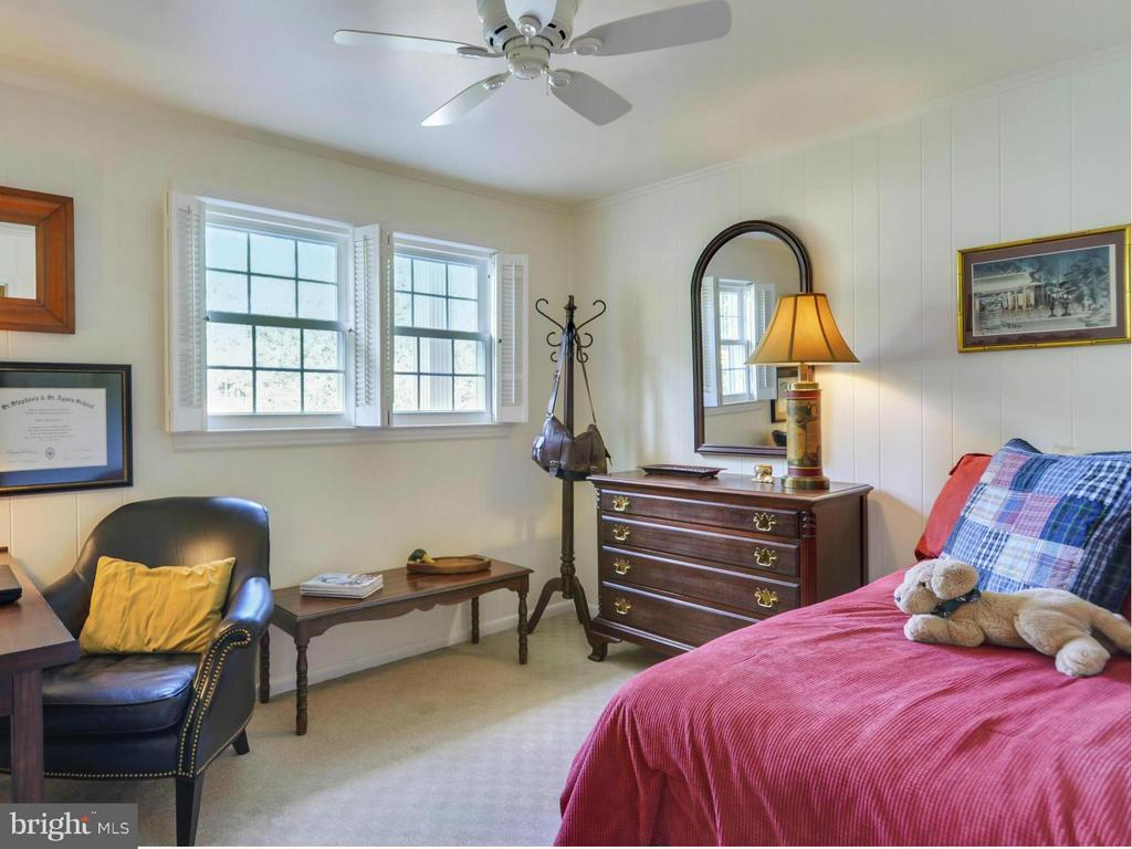 Bedroom on  lower level is perfect guest room! - 3901 PINE BROOK RD, ALEXANDRIA