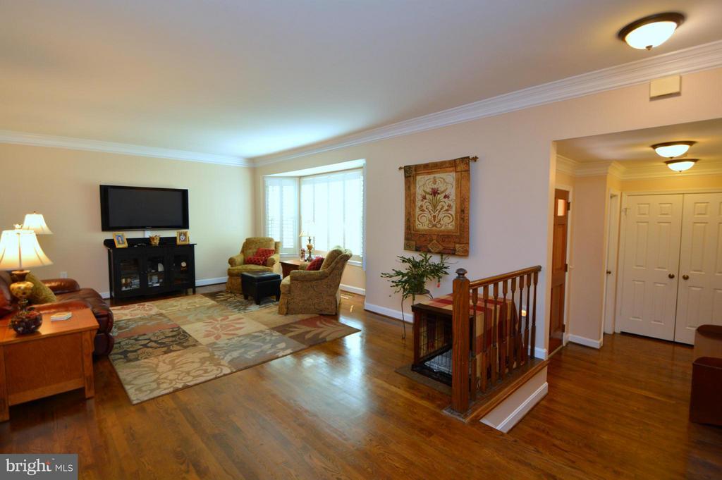 Living Room - 7302 AYNSLEY LN, MCLEAN