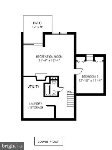 Lower Level - 7903 SCHUYLER CT, ANNANDALE