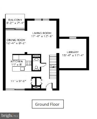 Main Level - 7903 SCHUYLER CT, ANNANDALE