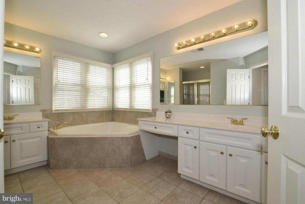 Master bathroom - views of his/her vanities! - 20736 ASHBURN STATION PL, ASHBURN