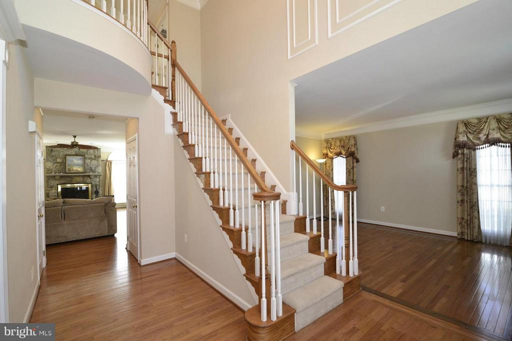 Grand entry foyer - 20736 ASHBURN STATION PL, ASHBURN