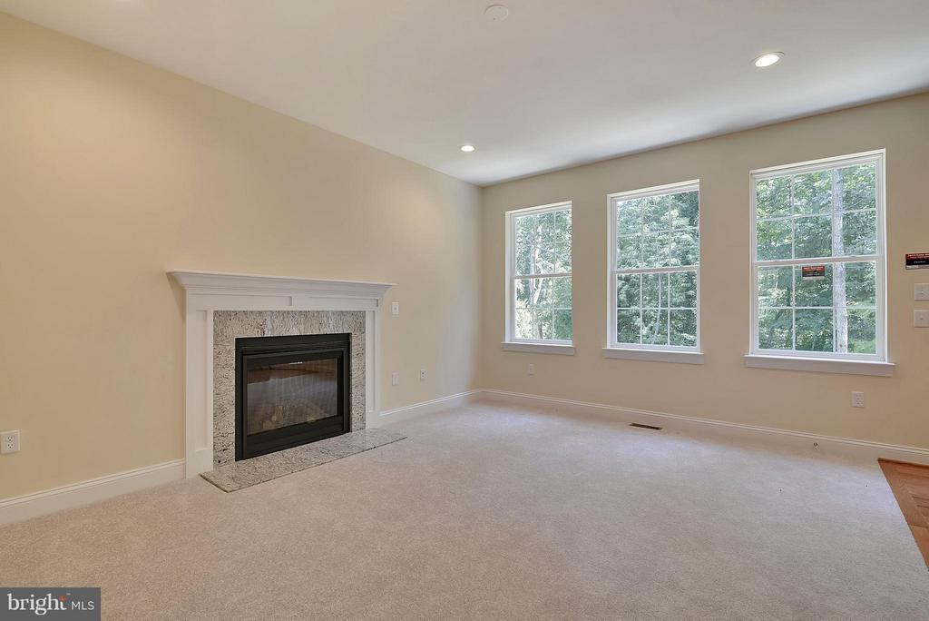 Cozy up or entertain! Fam Room flows into kitchen - 18413 CEDAR DR, TRIANGLE
