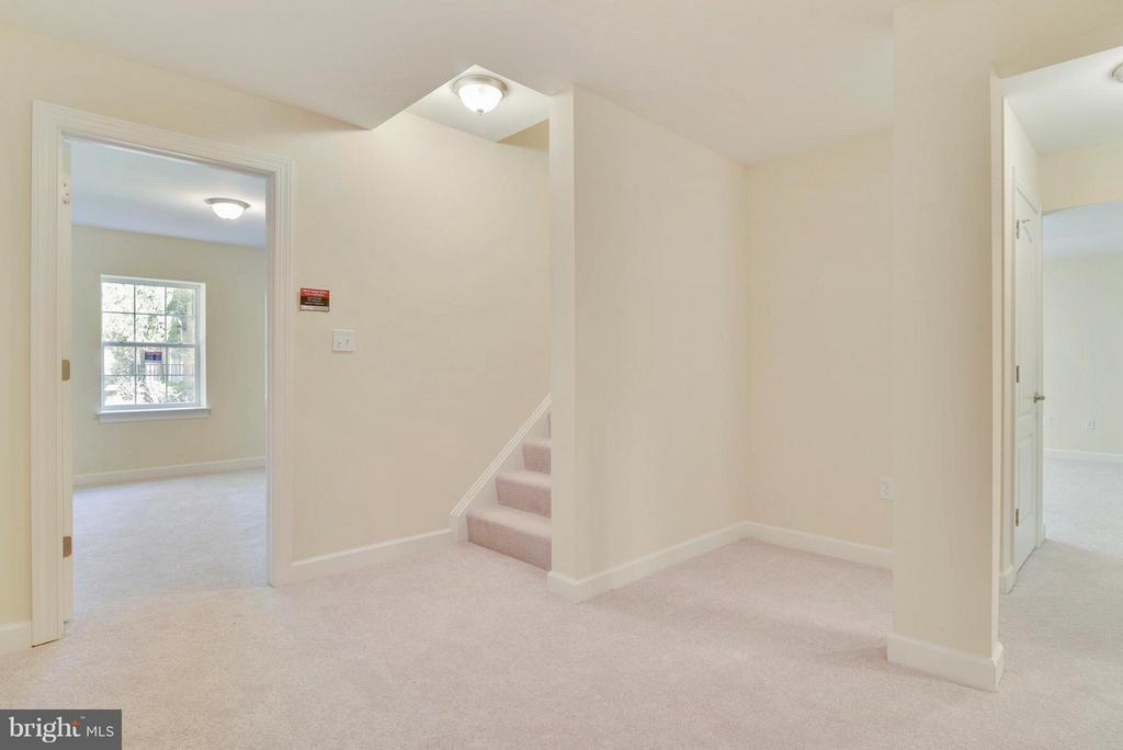 Finished basement with additional bedroom, office, - 18413 CEDAR DR, TRIANGLE