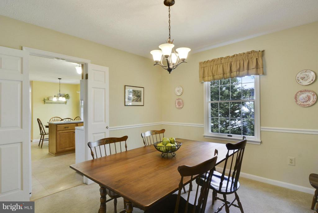 Spacious dining room - 790 3RD ST, HERNDON