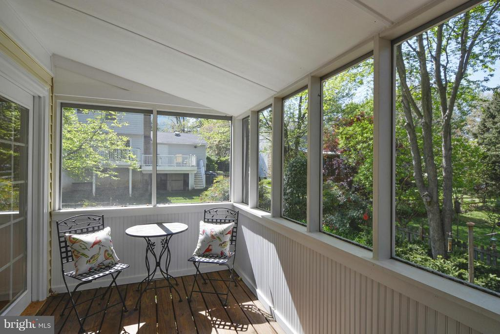 Screened porch - 790 3RD ST, HERNDON