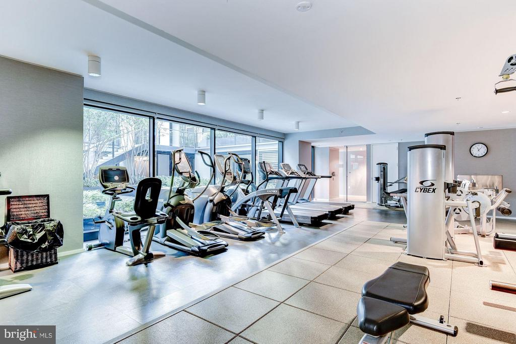 Complete fitness room - 920 I ST NW #505, WASHINGTON