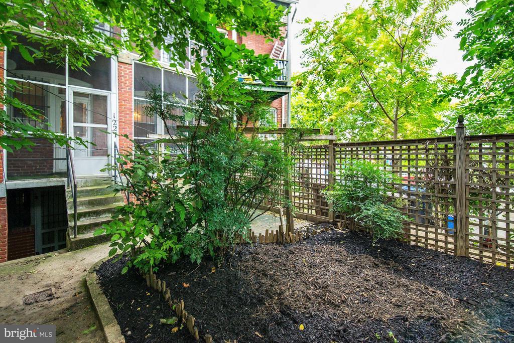 Rear Yard (2 of 3) - 1227 PARK RD NW, WASHINGTON