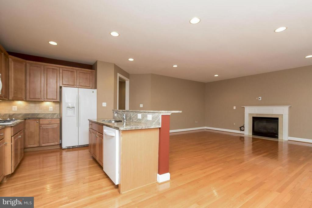 Kitchen/Family Room - 5985 TWIN BRANCH CT, HAYMARKET
