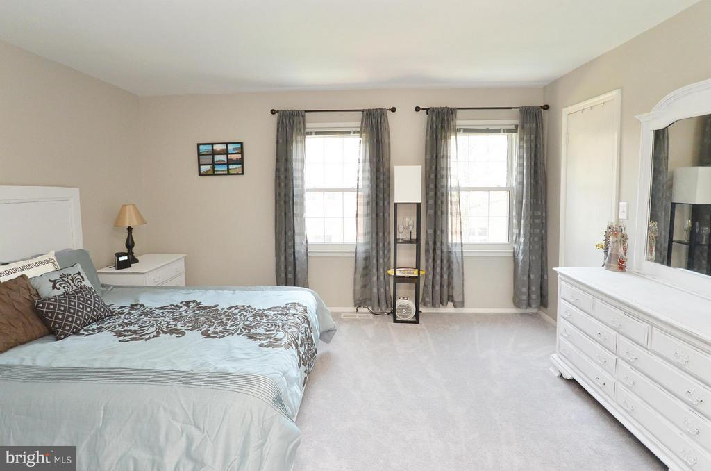 Master Bedroom with new carpet & paint - 2352 HORSEFERRY CT, RESTON