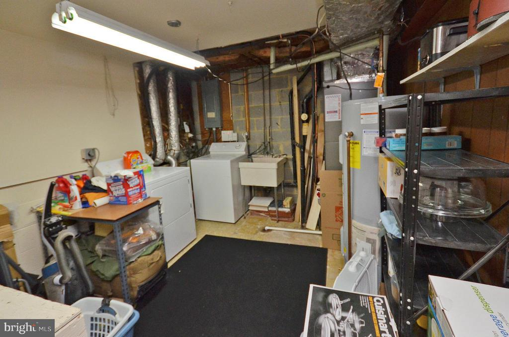 Lower Level Laundry and Storage Room - 2352 HORSEFERRY CT, RESTON