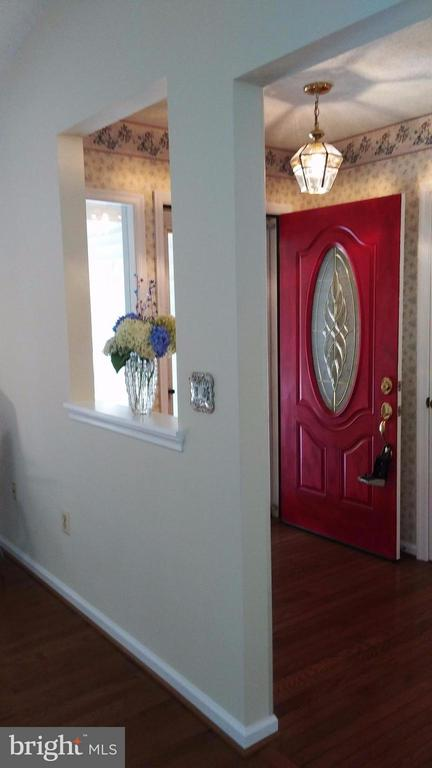 Entry Foyer - Wood Flooring Full Glass storm door - 113 SILVER SPRING DR, LOCUST GROVE