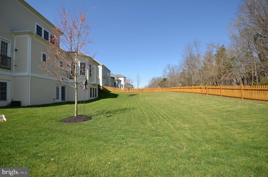 Back yard - 41852 MARIGOLD MILL PL, ASHBURN