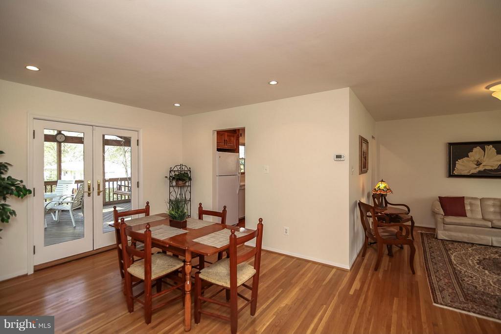 Dining Room/Living Room - 4212 BRAEBURN DR, FAIRFAX