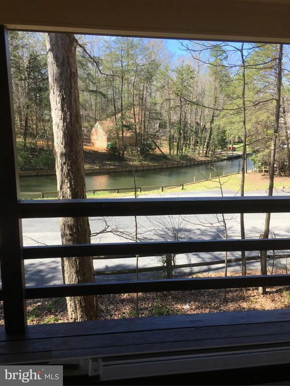 View from front porch - 202 EDGEHILL DR, LOCUST GROVE