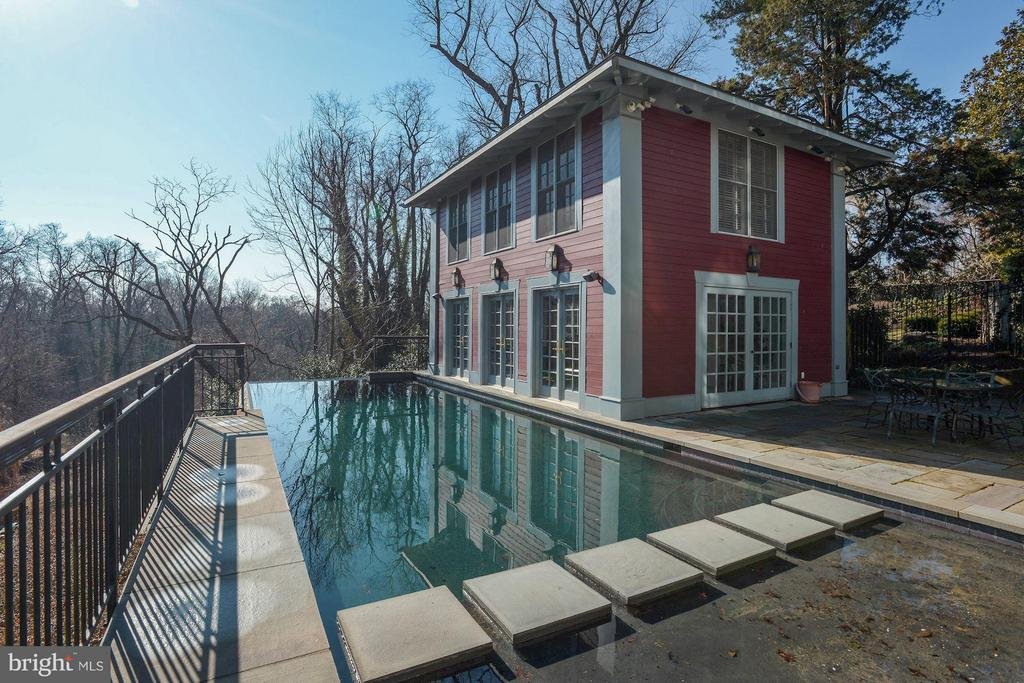 Fabulous 1BR 1bath Pool House and infinity pool - 3101 CHAIN BRIDGE RD NW, WASHINGTON