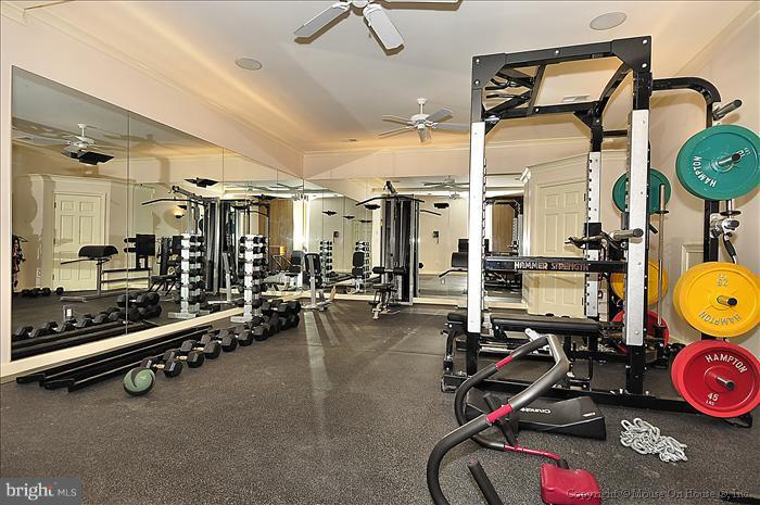 Fitness Room has bath and Sauna - 3101 CHAIN BRIDGE RD NW, WASHINGTON