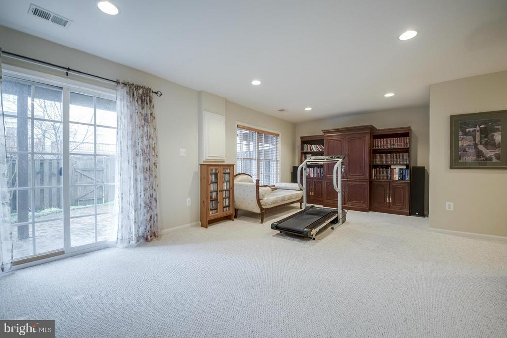 Lower Level Recreation Room - 143 HERNDON MILL CIR, HERNDON