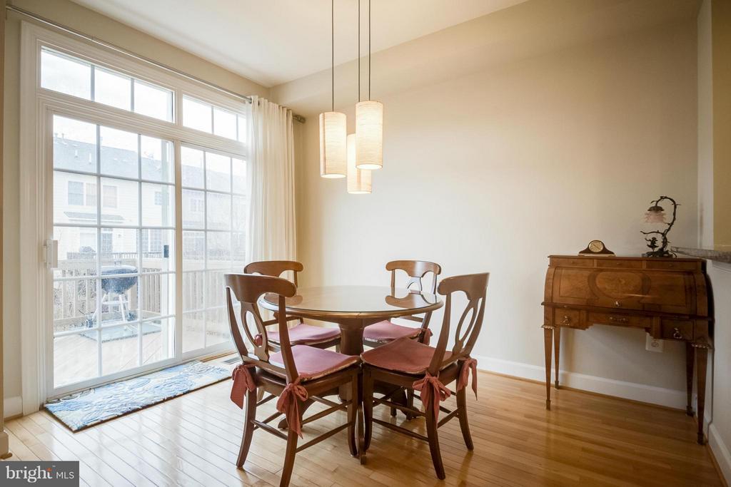 Breakfast Room - 143 HERNDON MILL CIR, HERNDON