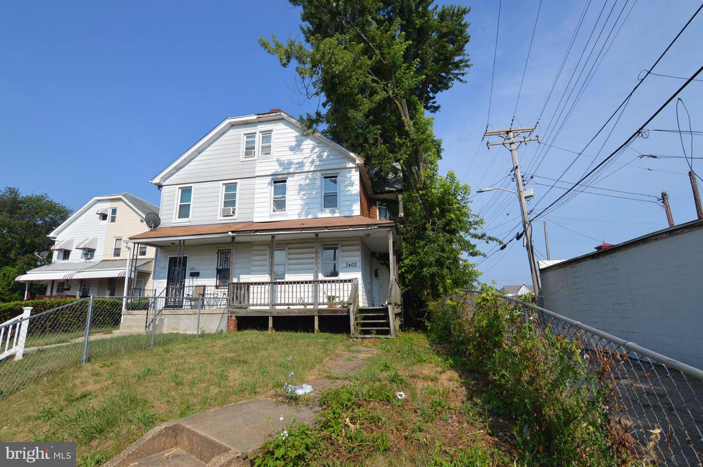 Photo of home for sale at 3402 Hayward Avenue, Baltimore MD