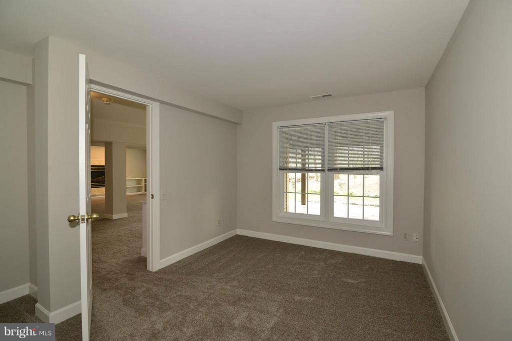 Lower Level Bedroom - 12013 CALIE CT, FAIRFAX