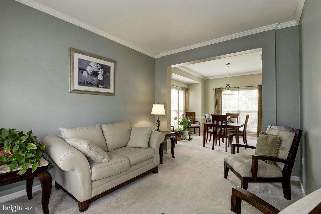 Living Room - 5624 EPPES ISLAND PL, MANASSAS