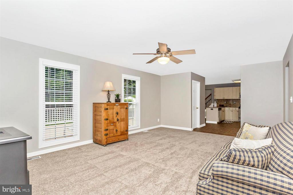 Family Room - 1010 VILLAGE GATE DR, MOUNT AIRY