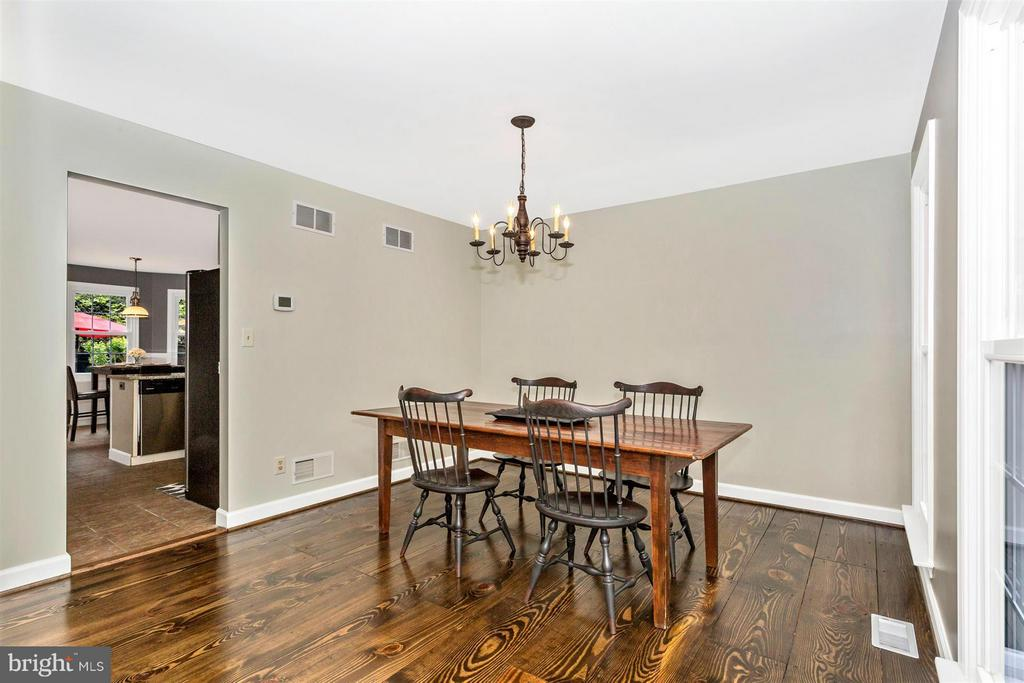 Dining Room - 1010 VILLAGE GATE DR, MOUNT AIRY