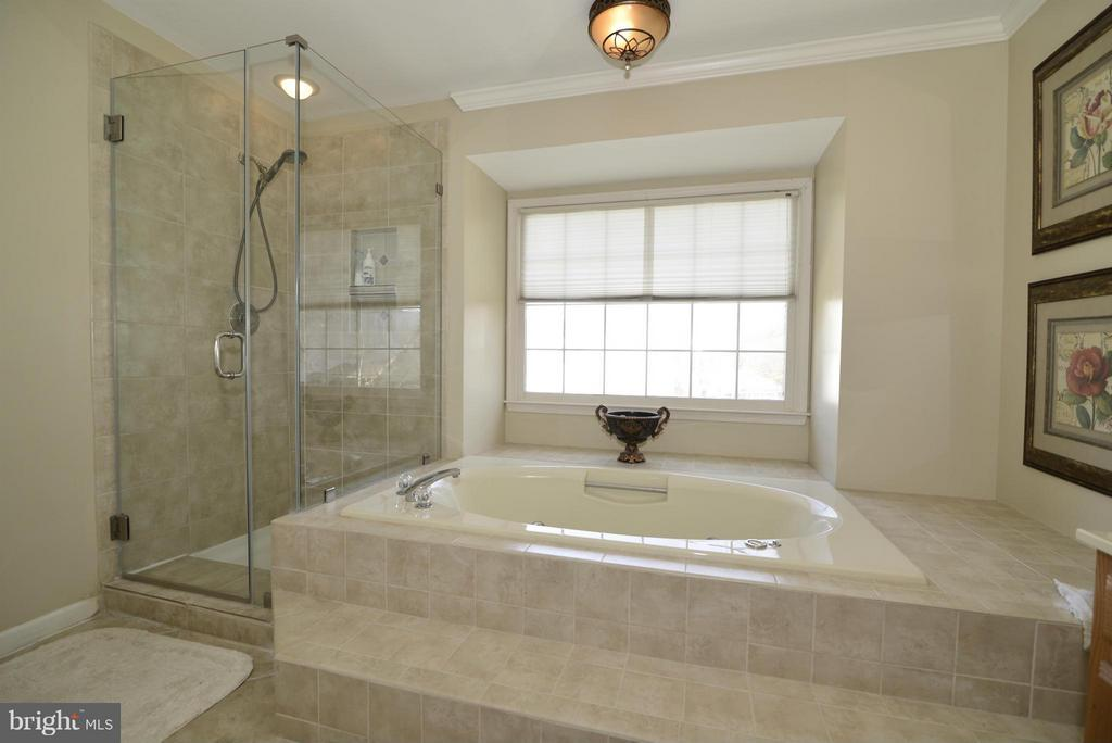 Bath (Master) - 2611 MEADOW HALL DR, HERNDON