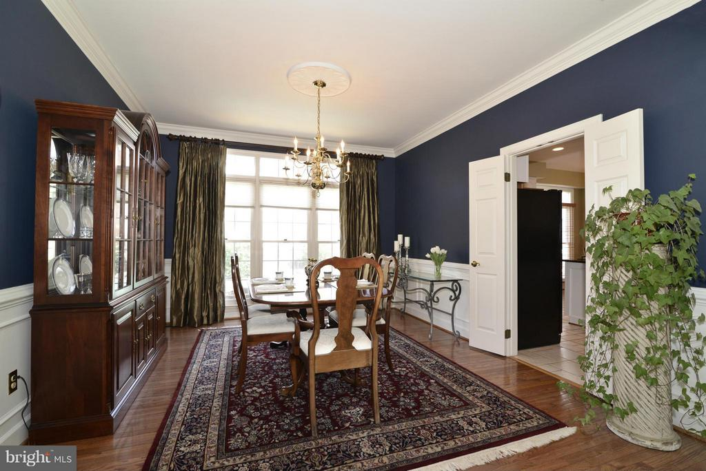 Dining Room - 2611 MEADOW HALL DR, HERNDON