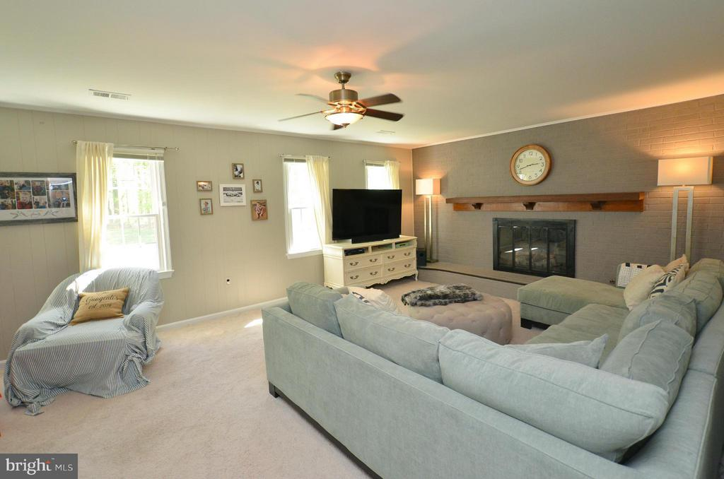 Family Room - 7422 BEVERLY MANOR DR, ANNANDALE