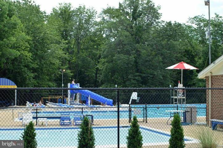 community pool - 12806 KETTERING DR, HERNDON