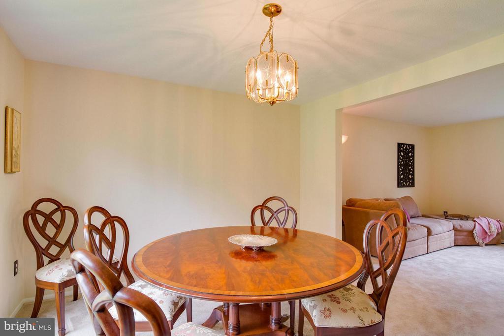 Dining Room - 12806 KETTERING DR, HERNDON