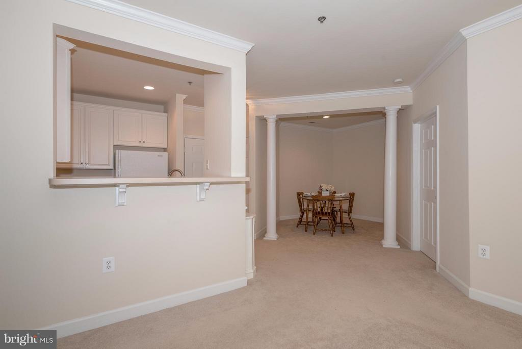 View into Kitchen and Dining Room - 1320 WAYNE ST N #208, ARLINGTON