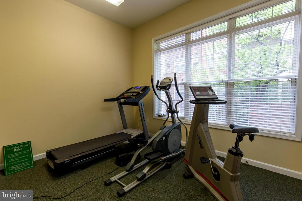 Indoor Gym - 1320 WAYNE ST N #208, ARLINGTON