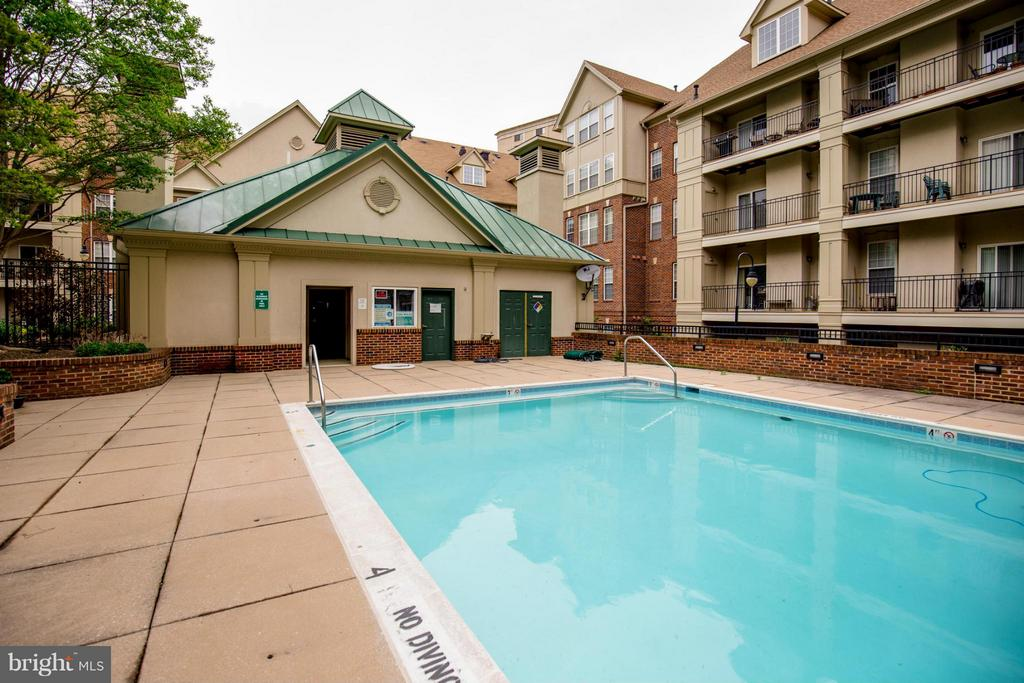 Swimming Pool - 1320 WAYNE ST N #208, ARLINGTON