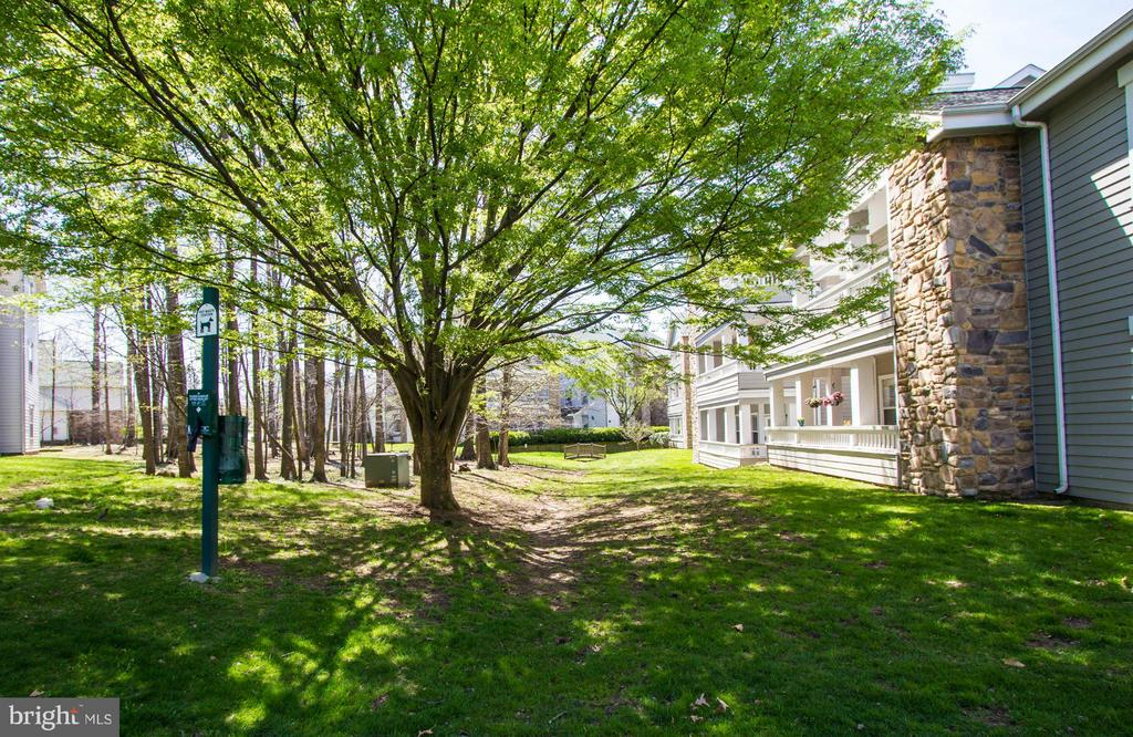 Green space view from Master bedroom - 13060 AUTUMN WOODS WAY #201, FAIRFAX