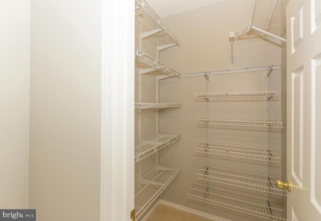 Bedroom 2 large walk-in closet - 13060 AUTUMN WOODS WAY #201, FAIRFAX