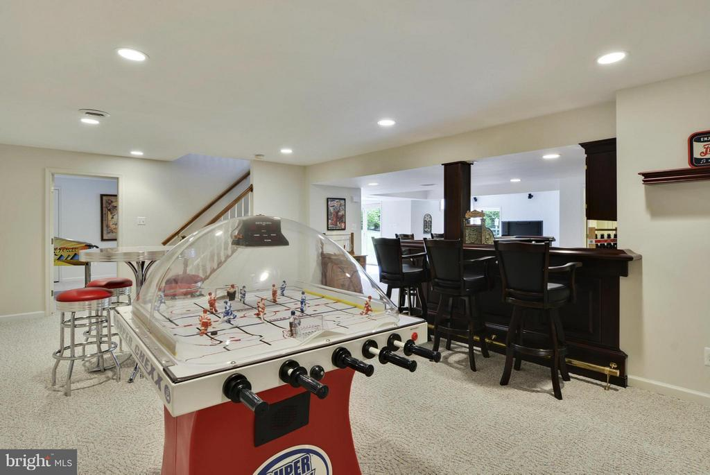 Lower Level Rec Room - 1321 DASHER LN, RESTON