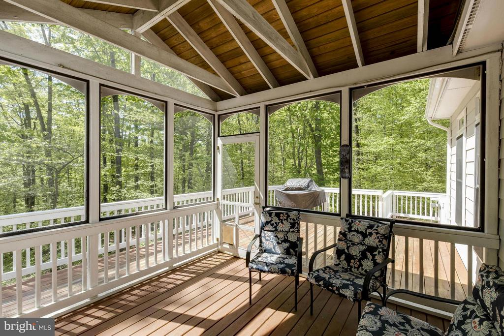 Screened in Porch - 14388 WATERFORD WOODS CT, LEESBURG